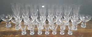 Iittala, Finland, Tapio Collection, 25 Glasses, Tapio Wirkkala