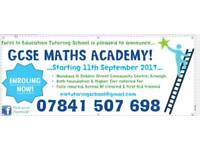 GCSE Maths Academy @ Brownlow Hub Craigavon