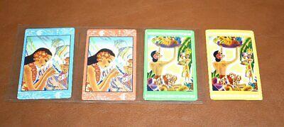 Lot of 4 Hawaiian Girl Swap Playing Cards Advertising