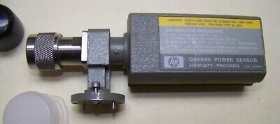 Hp Q8486a Waveguide Power Sensor Wr-22 33-50ghz Q Band 1uw-100mw Tested Working