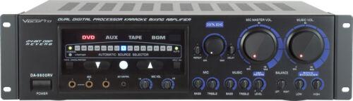 Vocopro DA-9800RV  600W Professional Digital Key Control Mixing Amplifier w/DSP