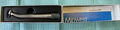 Midwest Tradition Push Button Fiberoptic High Speed Hand Piece