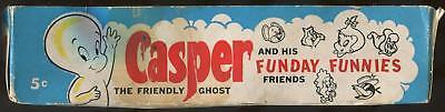 1960 Fleer Casper The Friendly Ghost 5-Cent Display Box (Missing Lid)