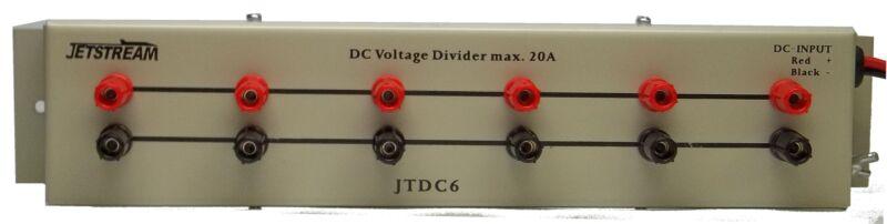 Jetstream JTDC6 DC power strip, 6 outlets