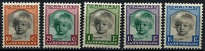 Luxembourg 1931 SG#302-306 Child Welfare MH Set #D75253