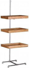 3 Tier Industrial Style shelving units (CFS furniture)