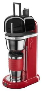 KitchenAid KCM0402ER 4-Cup Personal Coffee Maker, Empire Red