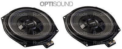 Vibe Optisound Car Underseat Subwoofers Upgrade 1 PAIR to fit BMW 5 Series F10