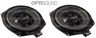 Vibe Optisound BMW X3 F25 Car Audio Underseat Subwoofers Upgrade