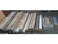 100 wood wooden pallet planks boards all nails removed , lot of decorative boards + lot of cut offs