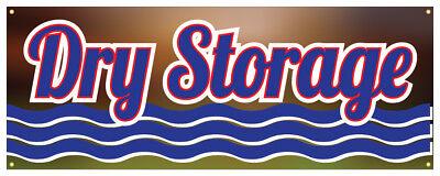 Dry Storage Banner Boat Marina Land Store Banner 36x96