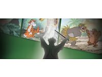 The Jungle Book In Concert at Royal Festival Hall- 4 Stalls tickets Row M £55 each