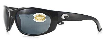 COSTA DEL MAR HOWLER HO 11 OGP 580P BLACK FRAME PLASTIC GRAY (Costa Howler 580p)