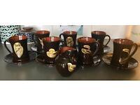 Yeo pottery coffee set