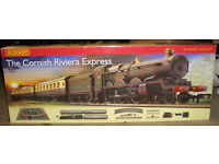 Hornby 00 Train set 'The Cornish Riviera Express'. Brand new in box.