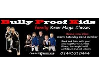 Bully Proof Kids Class starts Saturday morning 22nd October 10am