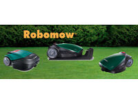 Robomow. A fully automated lawn mower series for small town- to near soccer field size lawns