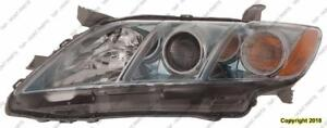 Head Lamp Driver Side Assembly Hybrid Usa Built Toyota Camry 2007-2009