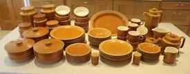Hornsea Saffron Pottery 1974/75 vintage.