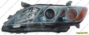 Head Light Driver Side Lens/Housing Hybrid Usa Built High Quality Toyota Camry 2007-2009