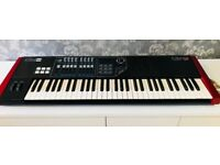 CME UF6 Midi Controller, 61 Keys, Sliders and other controls. Complete with USB Power and Manual