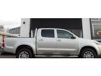 2013 Toyota Hilux Invincible Silver FSH
