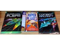 Paper Aeroplanes x 3 Book Bundle