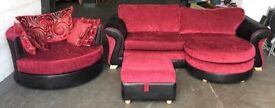 DFS Sofa Set & Swivel Chair .CAN DELIVER