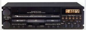 Nakamichi TD-700 and TD 500 car stereo cassette Deck