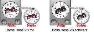 Reloj-de-pared-con-motivo-de-BOSS-HOSS-Motocicleta-Biker-Motocicletas-Motivo