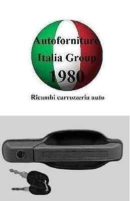 MANIGLIA PORTA ANTERIORE SX EST G/CHIARO C/CHIAVE IVECO DAILY 89>96 1989>1996