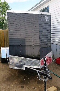 New 2017 5x10 6x12 7x14 16 enclosed trailers