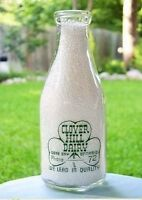 Quart Clover Hill Dairy Milk Bottle