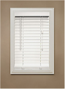 "2"" Faux Wood Window Blinds"