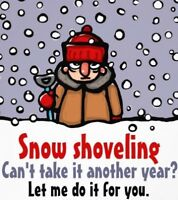 Snow Shoveling & Ice Removal ~ Fred 780-995-5603
