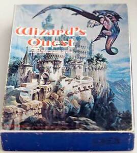 WIZARD'S QUEST BOARD GAME