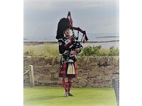 Bagpiper Piper for Wedding Stirling Glasgow Edinburgh Perth Inverness Dundee Isle of Skye Irvine Ayr