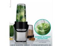 1000W Nutri Extractor Mini Bullet Blender Mixer Juicer with Free Recipe Book (Used-GradeA Condition)