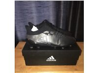 Adidas x17.1 boots Firm Ground size 10.5