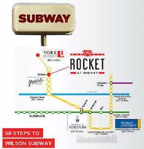 The Rocket at Subway Condo VIP sale! close to Yorkdale