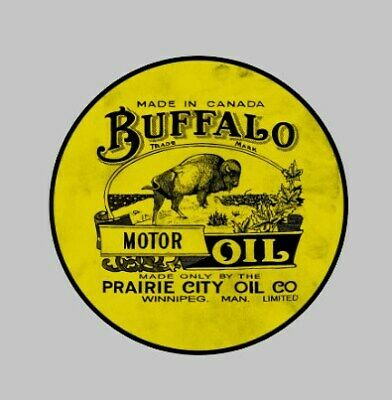 Buffalo Motor Oil car decal Sticker 75mm Race Racing Bike Texaco esso shell