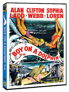 Boy On A Dolphin (1957) Alan Ladd, Sophia Loren / DVD NEW