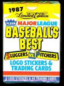 1987 Fleer Pack Baseball Cards