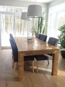 table en bois de grange La Colossale