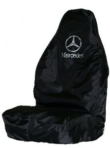 MERCEDES SPRINTER HEAVY DUTY SEAT COVER - BLACK WATERPROOF
