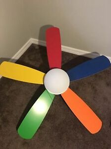 Kids Ceiling Fan and Light