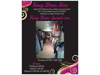 Fancy Dress Hire business for sale