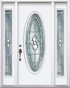 Front Entry Door and Two SideLights