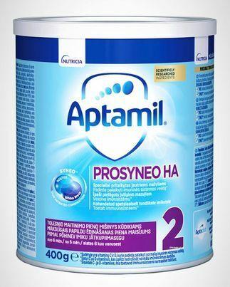 APTAMIL, milk mixture from 6 months, PROSYNEO HA 2, 400 g