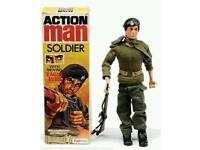 Wanted action man spares